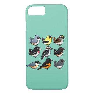 9 Northeast USA Backyard Birds iPhone 7 Case
