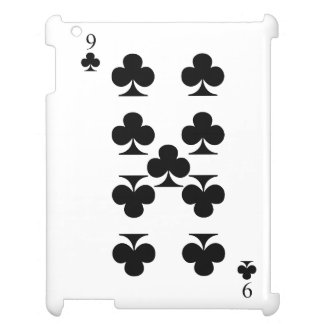 9 of Clubs Case For The iPad 2 3 4