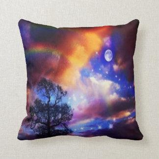 #9-over active sky throw pillow