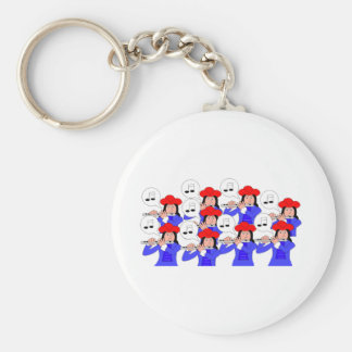 9 Pipers Piping Keychains