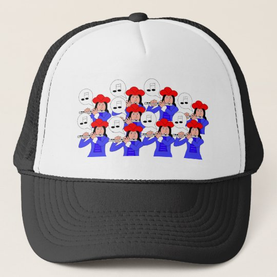 9 Pipers Piping Trucker Hat