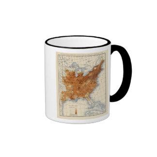 9 población 1860 taza de café