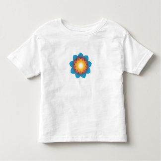 9-Point Lotus Flower Toddler T-shirt