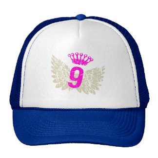 9 Raspberry Wings Trucker Hats