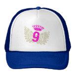 #9 Raspberry Wings Trucker Hats