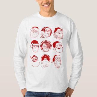 9 Santas - Men's Long Sleeve T-shirt