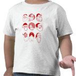 9 Santas - Toddler T-shirt