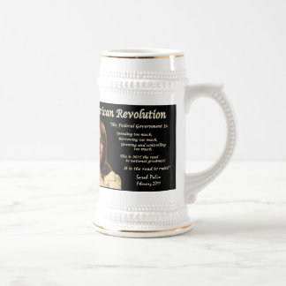 #9 - Sarah Palin - The Road To Ruin Beer Stein