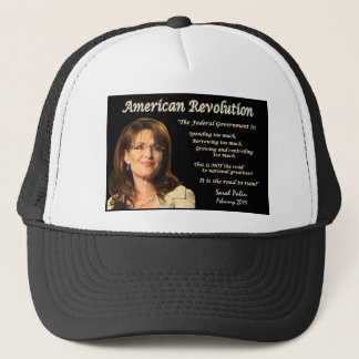 #9 - Sarah Palin - The Road To Ruin Trucker Hat
