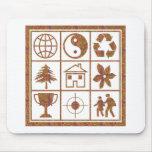 9 símbolos hacen los grandes NIÑOS EL REGALO de Alfombrillas De Ratón