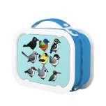 Blue yubo Lunch Box
