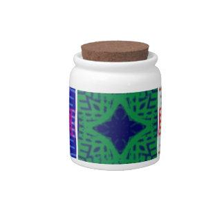9 star Hakuna matata pattern Candy Jar