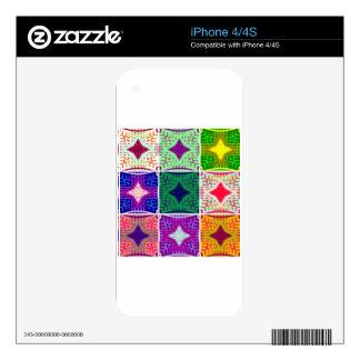 9 star Hakuna matata pattern Skin For The iPhone 4S