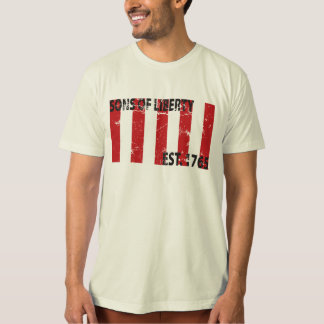 9 Stripped Sons of Liberty Flag Shirt