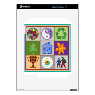 9 Symbols KIDS Story Engage Motivate Inspire GIFTS Decals For iPad 2
