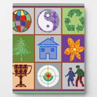 9 Symbols KIDS Story Engage Motivate Inspire GIFTS Photo Plaque