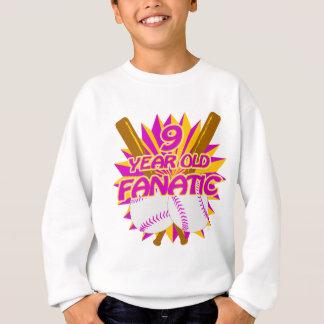 9 Year Old Baseball Fanatic Sweatshirt