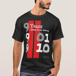 9 Years 911 Black T-Shirt