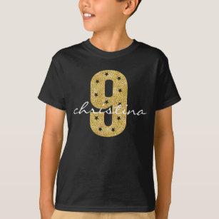 9 Year Old Birthday T Shirts