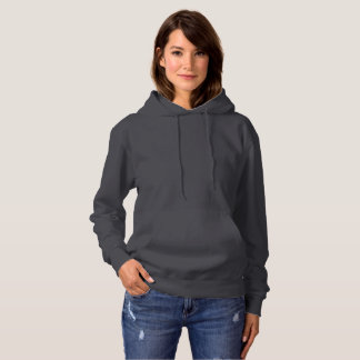 9color options Women's Basic Hooded Sweatshirt