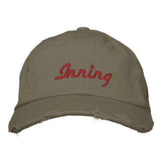 9d. 7th Inning Stretch Embroidered Baseball Hat