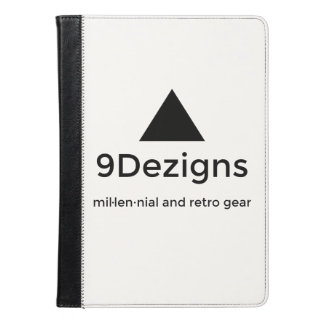 9Dezigns Millennial and Retro Gear iPad Air Case