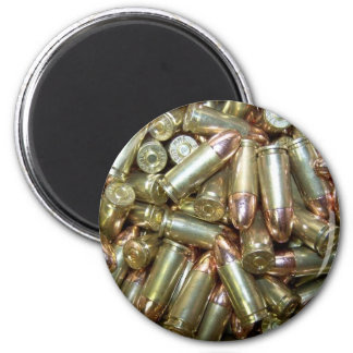 9mm ammo Ammunition 2 Inch Round Magnet
