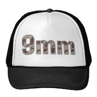 9mm ammo ammunition desert camo trucker hats