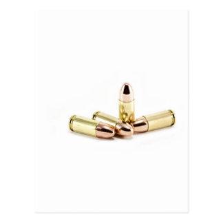 9mm Bullets Postcard