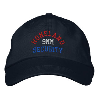 9MM Homeland Security Embroidered Baseball Cap