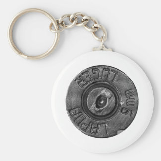 9mm Luger Keychain