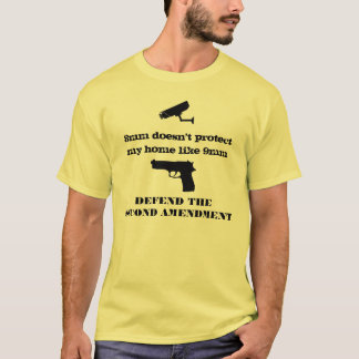 9mm protects my home not 8mm T-Shirt