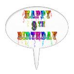 9na selección feliz de BirthdayZone del primero de Figuras De Tarta