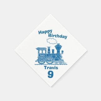 9nas servilletas nombradas del cumpleaños de los servilleta de papel
