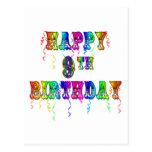 9no camisetas del cumpleaños, tazas del cumpleaños postal
