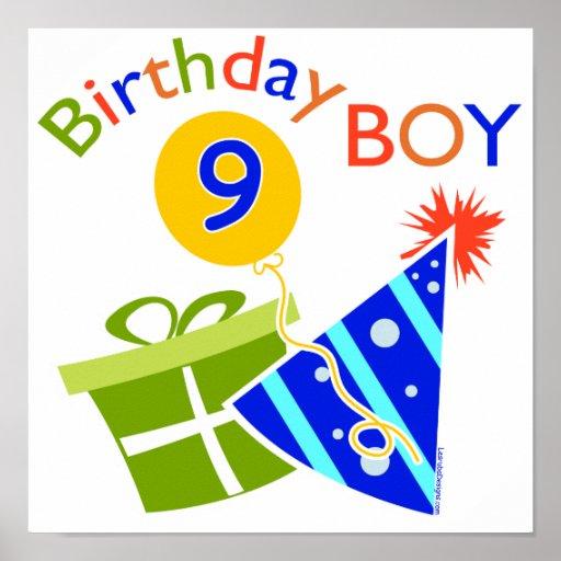 9no cumpleaños de los muchachos posters