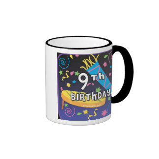 9no Cumpleaños Tazas De Café