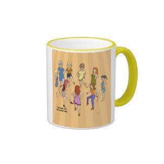 9no Día de taza del navidad (nueve señoras que bai