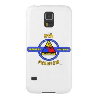 """9no DIVISIÓN """"FANTASMA"""" ACORAZADA de la DIVISIÓN Funda De Galaxy S5"""