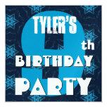 9no Fiesta de cumpleaños nueve años de estrellas Anuncio