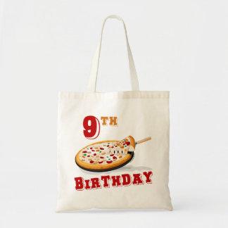 9no Fiesta de la pizza del cumpleaños Bolsas
