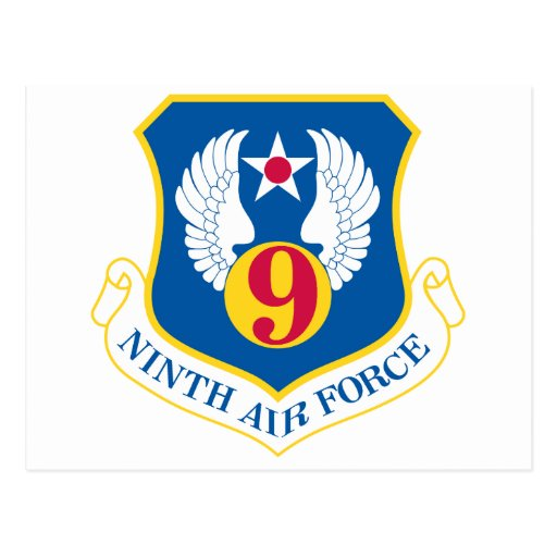 9no Fuerza aérea de U S Postal