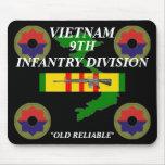 9no Infantería Vietnam Mousepad 2/b Alfombrillas De Raton