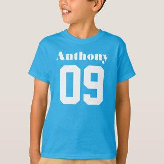 9no Nombre de encargo de la camisa el | del