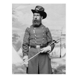 9no Oficial de Massachusetts, 1860s Tarjetas Postales