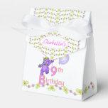 9no Princesa Bear Custom del cumpleaños Paquetes De Regalo Para Bodas