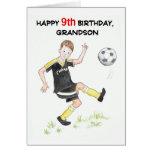 9no Tarjeta de cumpleaños para un nieto -