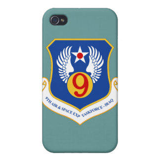 9th Air & Space Exped Taskforce IRAQ Case For iPhone 4