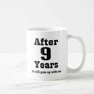 9th Anniversary (Funny) Coffee Mug