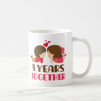 9th Anniversary Gift For Her Mugs